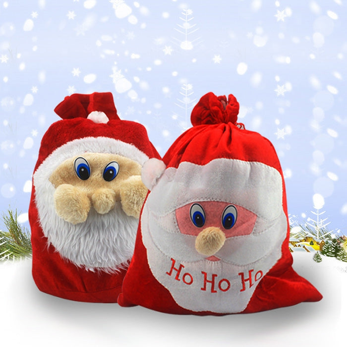 Creative Christmas Decorations Supplies Big Candy Bag 1PC