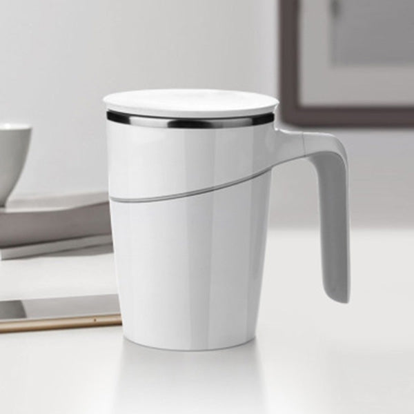 470ml Double Walled Anti-Slip Spill-free Stainless Steel Mug with Suction Base