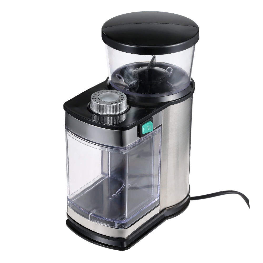 Gustino Stainless Steel Electric Coffee Grinder Bean Grinding Machine