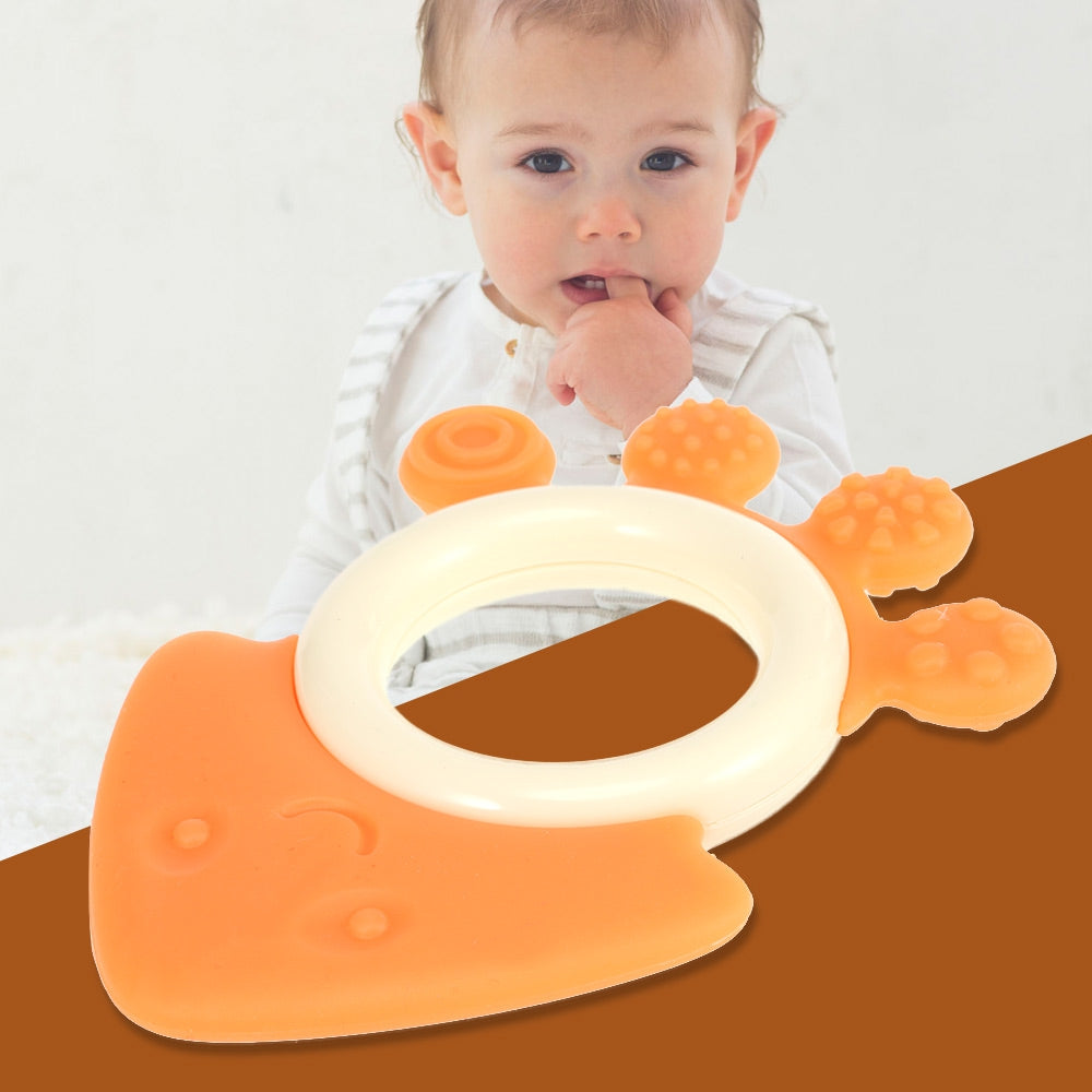 GoryeoBaby Silicone Cartoon Shape Baby Teether Teething Toy