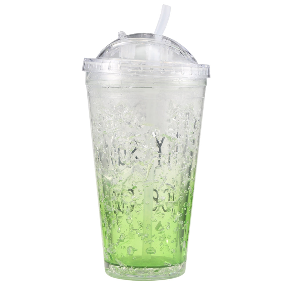 Ice Double Plastic Cool Summer Juice Ice Cool Cup