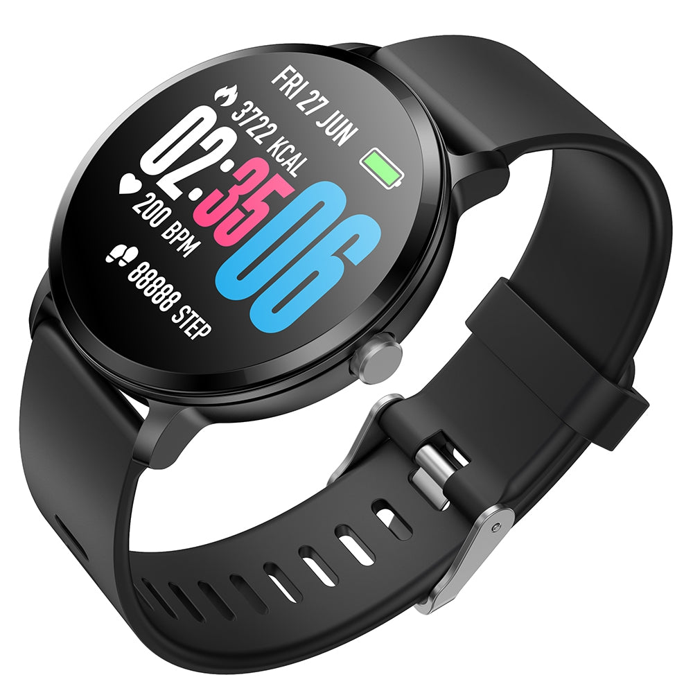 Goral V11 1.3 inch Sports Smart Watch Bluetooth 4.0 IP67 Waterproof Call / Message Reminder Heart Rate Monitor Blood Pressure Functions