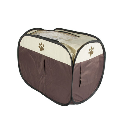 Pet Dog Playpen Cage Crate Portable Folding Exercise Kennel