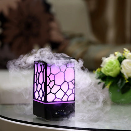 Aromatherapy Ultrasonic Household Silent Timing Essential Oil Humidifier