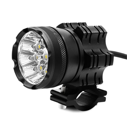 ZH - 738A2 Motorcycle LED Headlight 9 Lamp Bead 45W Front Light with Switch