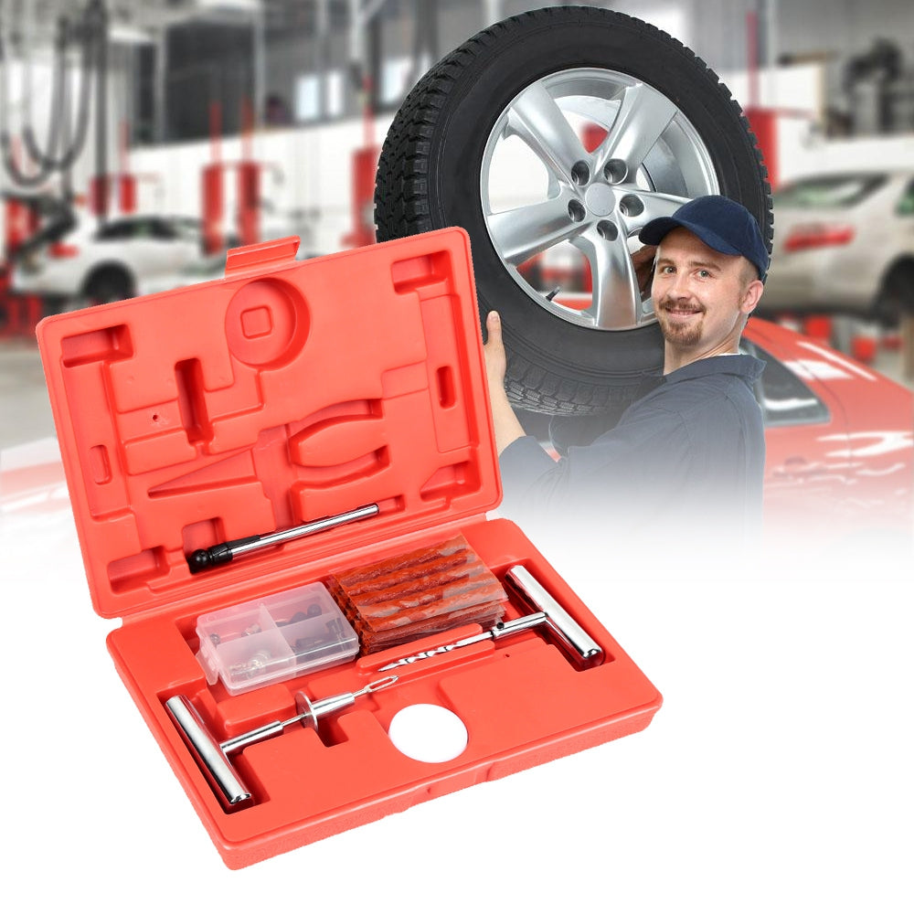 Tire Repair Kit for Car Motorcycle Jeep Tractor Trailer