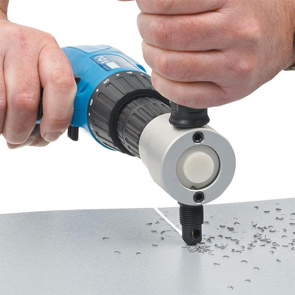 Portable Professional Double Head Metal Sheet Cutter Drill Attachment