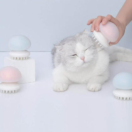 Pet Massage relaxing comb 45 degree for Cats Dogs