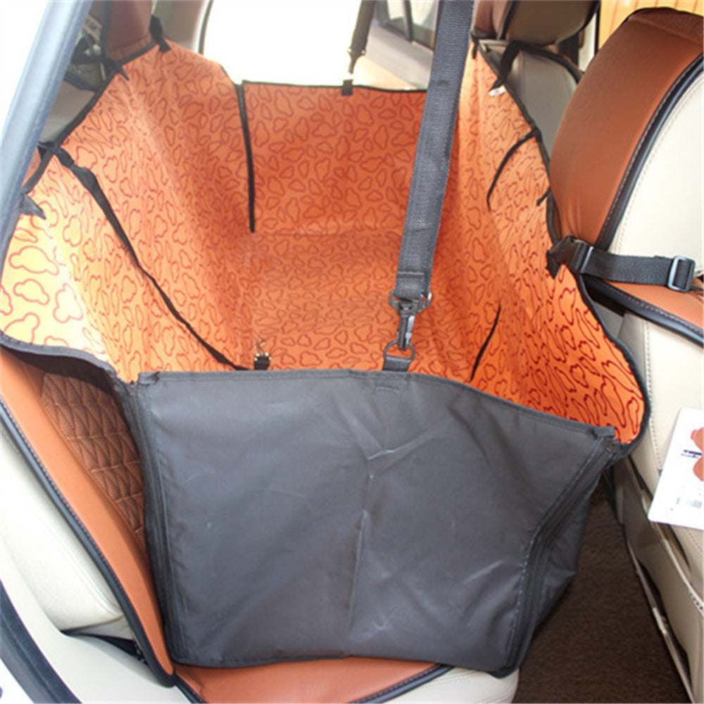 170 x 145cm Collapsible Waterproof Oxford Fabric Pet Protector Rear Back Seat Cover Cars Mat