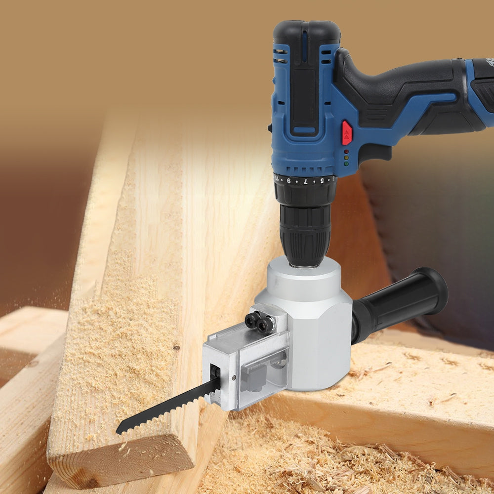 Dual-use Jig Saw Nibbler Metal Sheet Cutter for Electric Drill