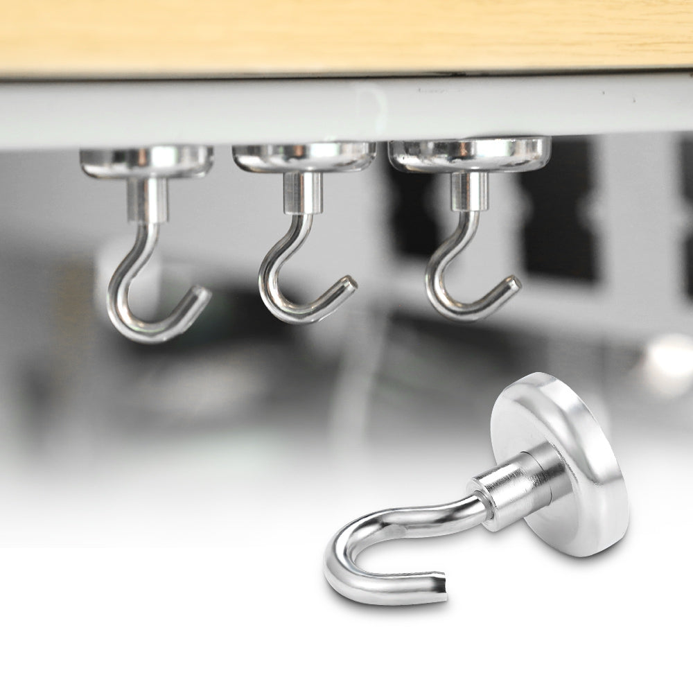 Strong Neodymium Magnet Hook for Indoor Outdoor Hanging