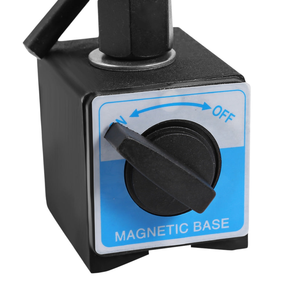 Flexible Magnetic Base Holder 1000N Maximum Adsorption Force for Dial Indicator Test Gauge