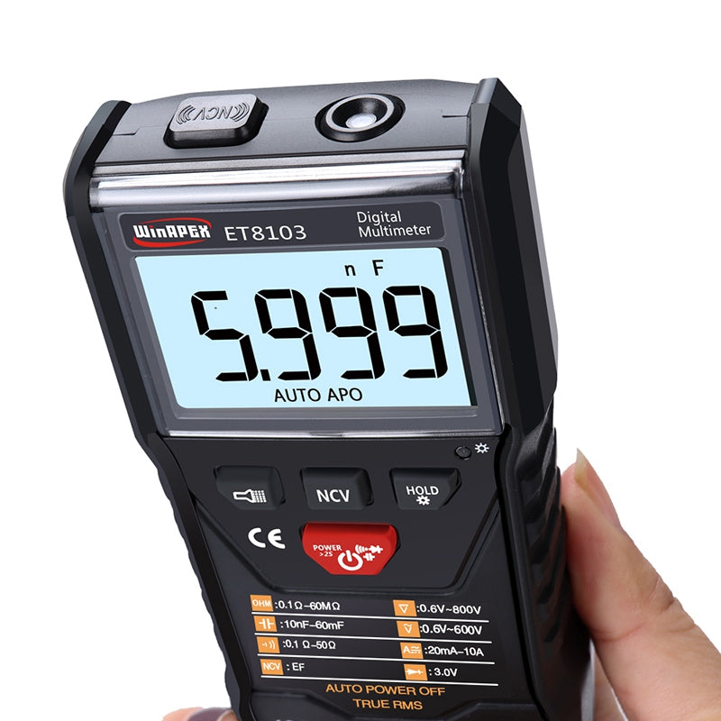 APEXEL ET8103 Full Intelligent Digital Multimeter