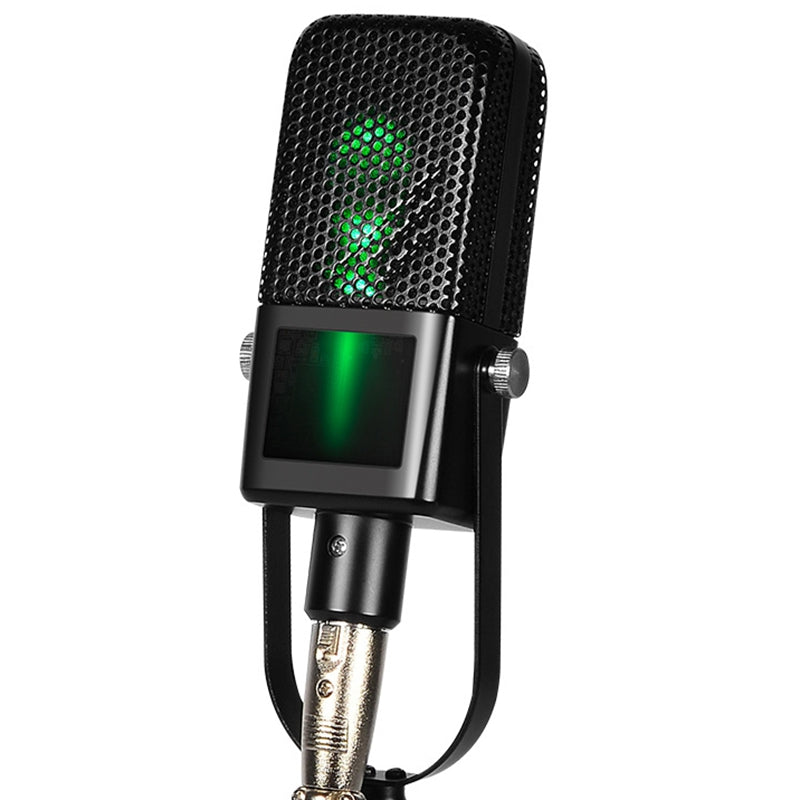 911 Great Sound Quality / Rotatable Holder / LED Lights Condenser Microphone