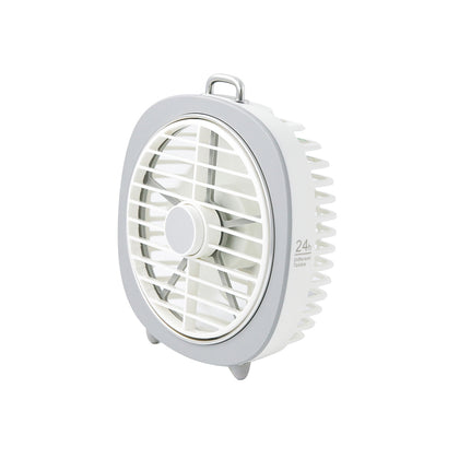 Mini USB Desk Fan with Night Light