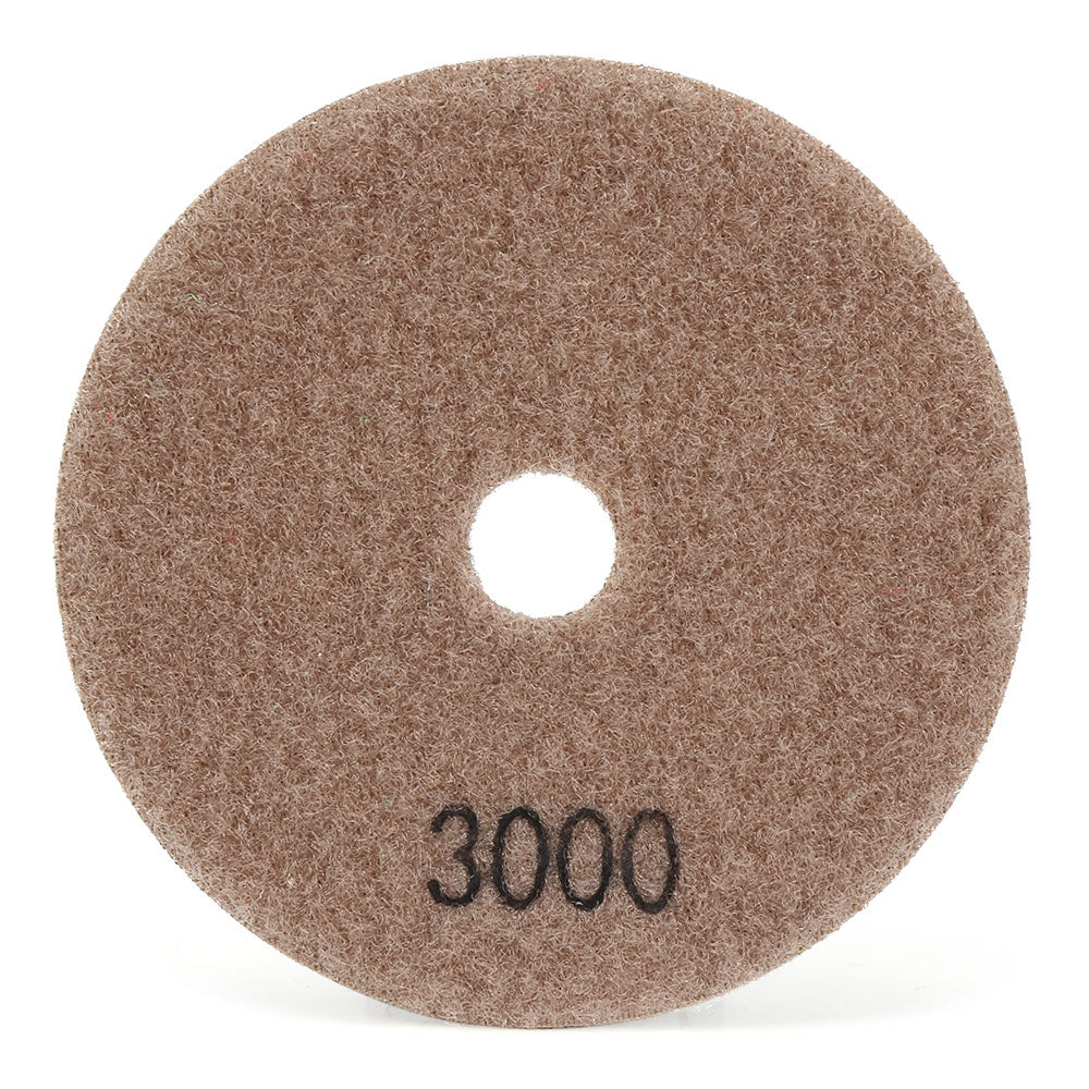 7pcs Diamond Polishing Pads Dry Grinding Discs for Granite Marble Concrete Stone