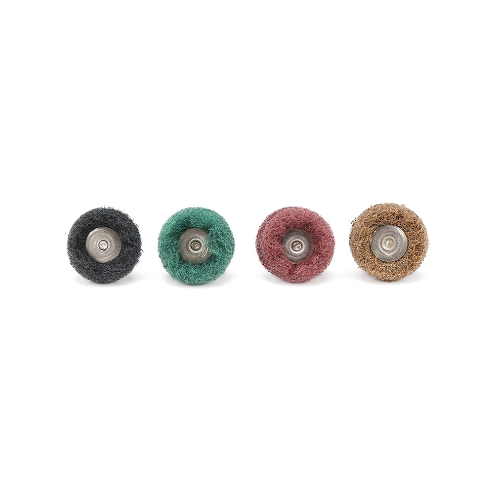 40pcs Mini Grinding Brush Nylon Fiber Polishing Wheel