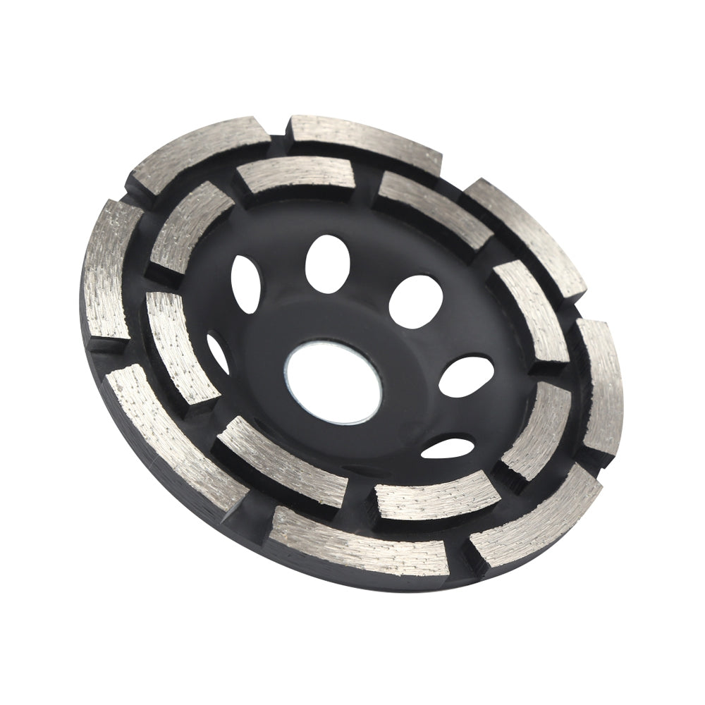 115 / 125mm Double-row Diamond Grinding Disc Metalworking Cutting Tool