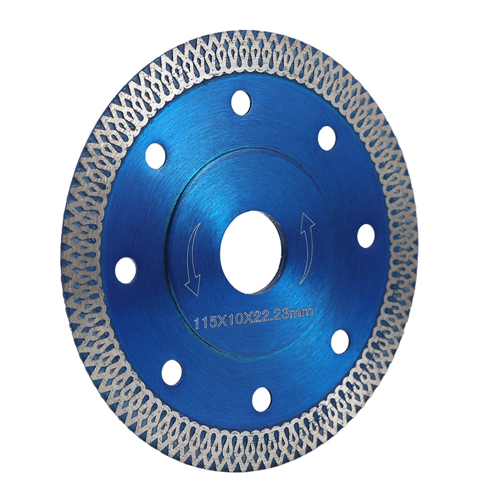 105 / 115 / 125mm Diamond Saw Blade for Porcelain Tile Ceramic Cutting