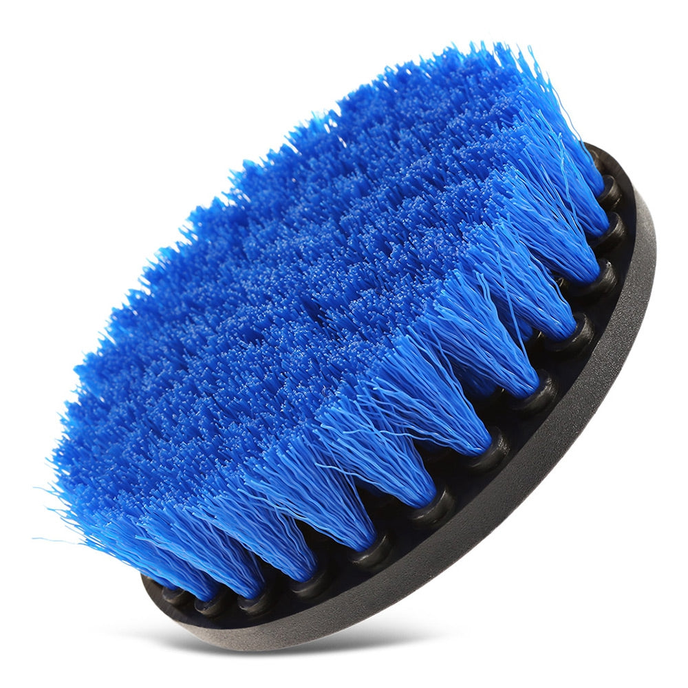 12pcs Drill Brush Scouring Pad Attachments for Bathroom Kitchen Cleaning