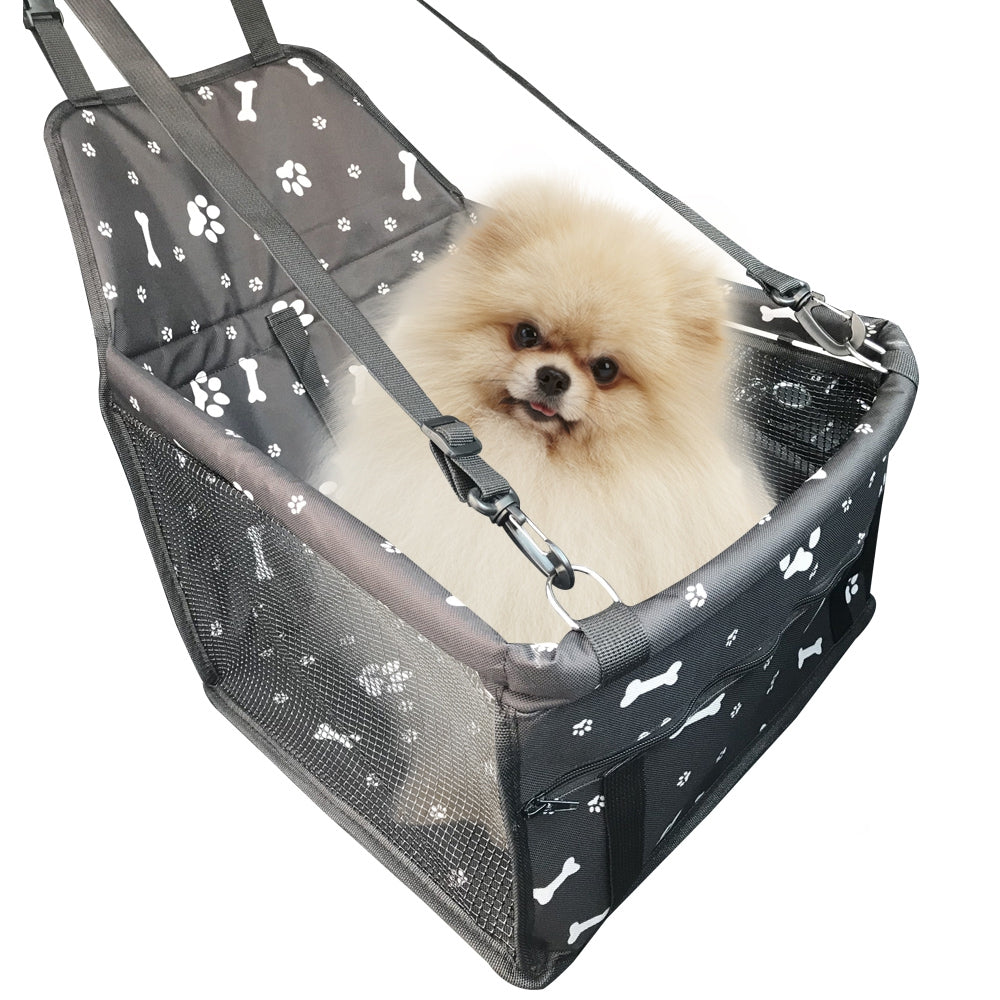 Car Front Row Waterproof Printing Anti-Deformation Pet Car Mat