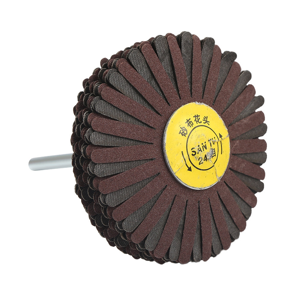 7pcs Cloth Wire Striping Polishing Wheel Wood Carving Sanding Accessories