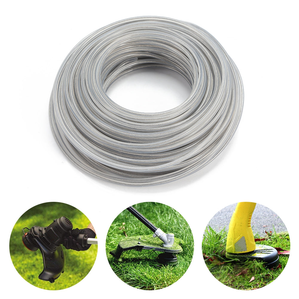 3.0mm 450g Grass Trimmer Wire Strimmer Rope Garden Tools Parts