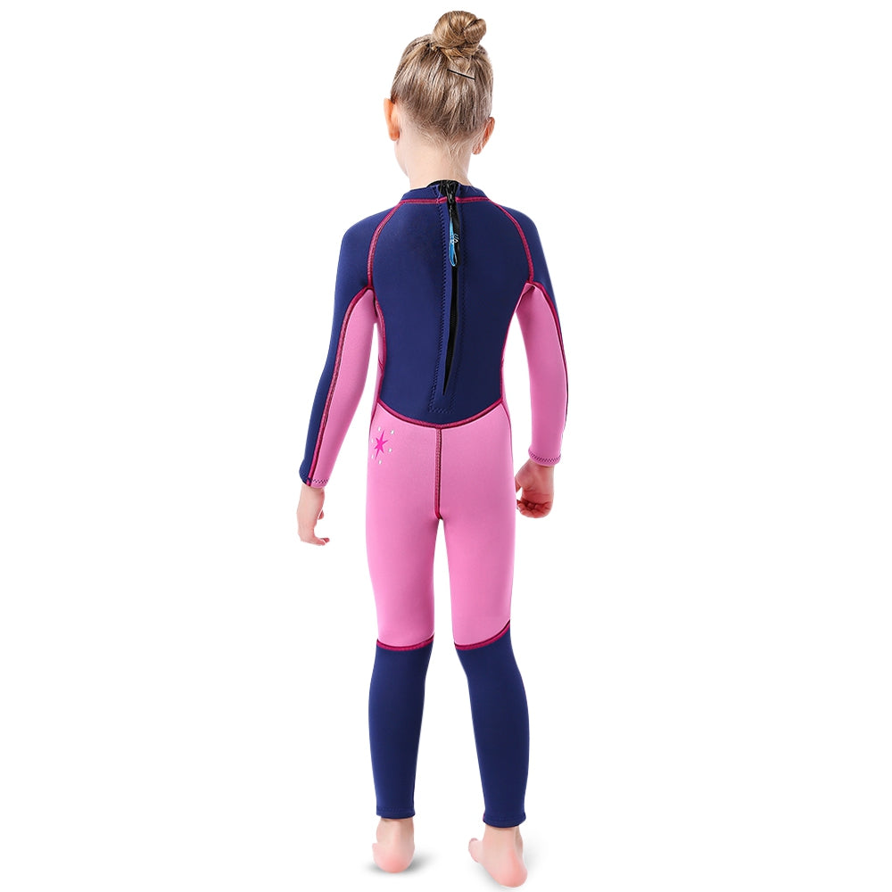 SLINX 3mm Diving Suit Long Sleeves Keep Warm Swimsuit for Children