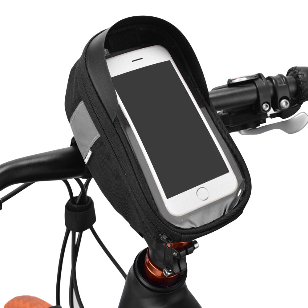 SAHOO Bike Handlebar Bag with Reflective Water Resistance Touchscreen