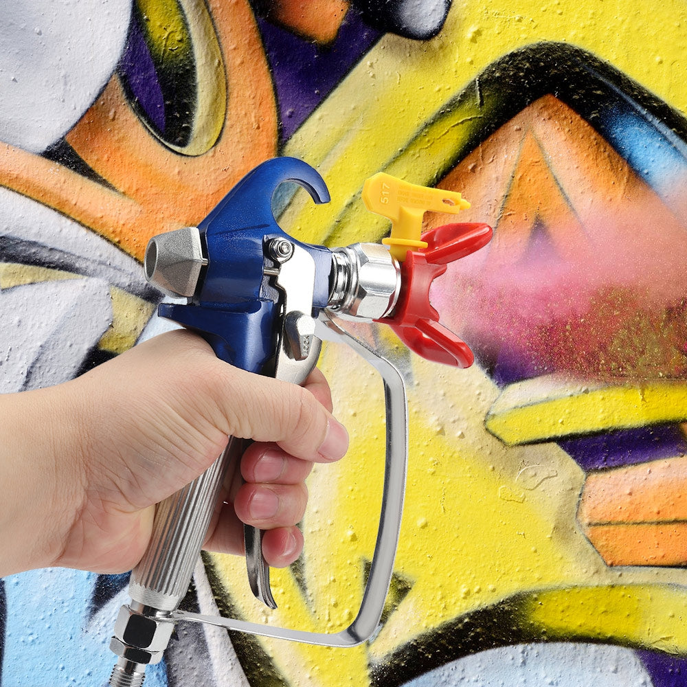 High-pressure Airless Paint Spray Gun with 517 Spray Nozzle for Wagner Titan Spraying Machine