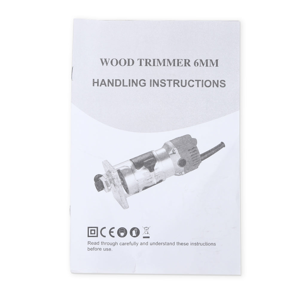 800W Electric Hand Trimmer Router Wood Carving Machine