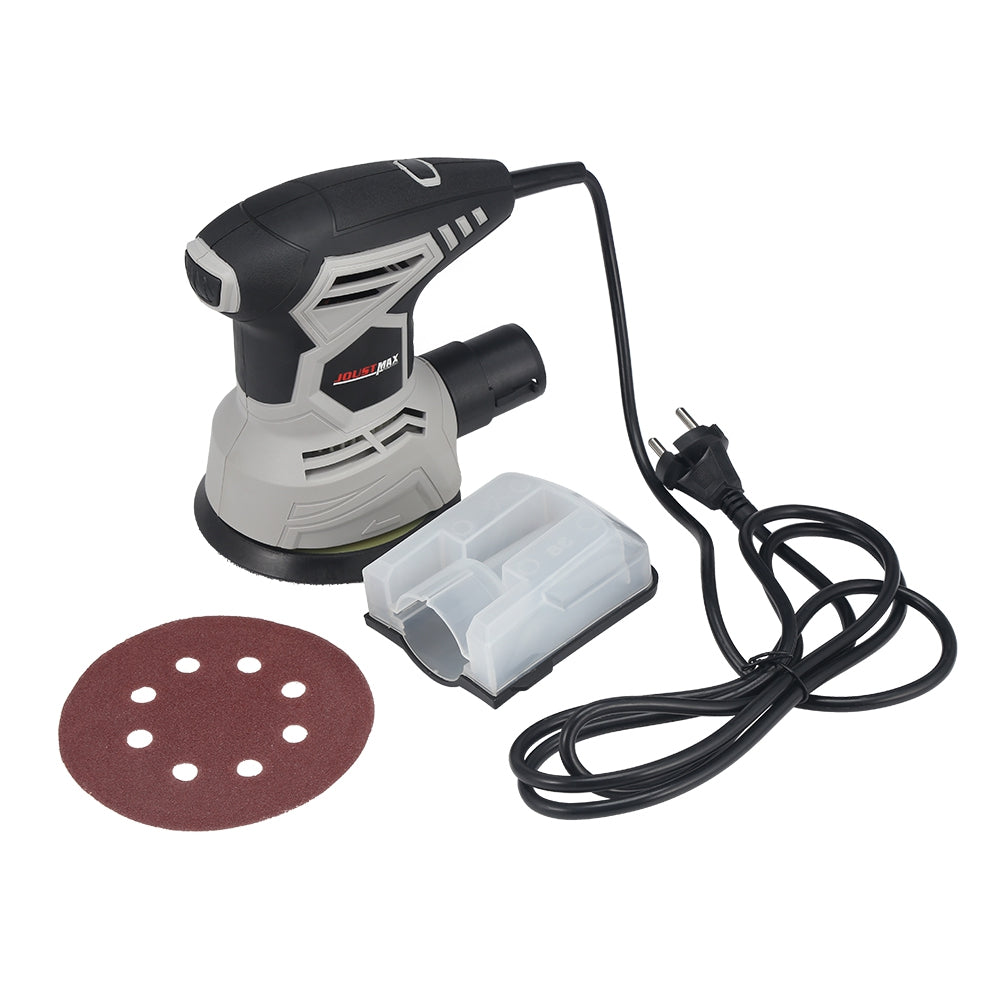 Electric Sander Woodworking Tool Metal Polisher Grinding Machine with Dust Box