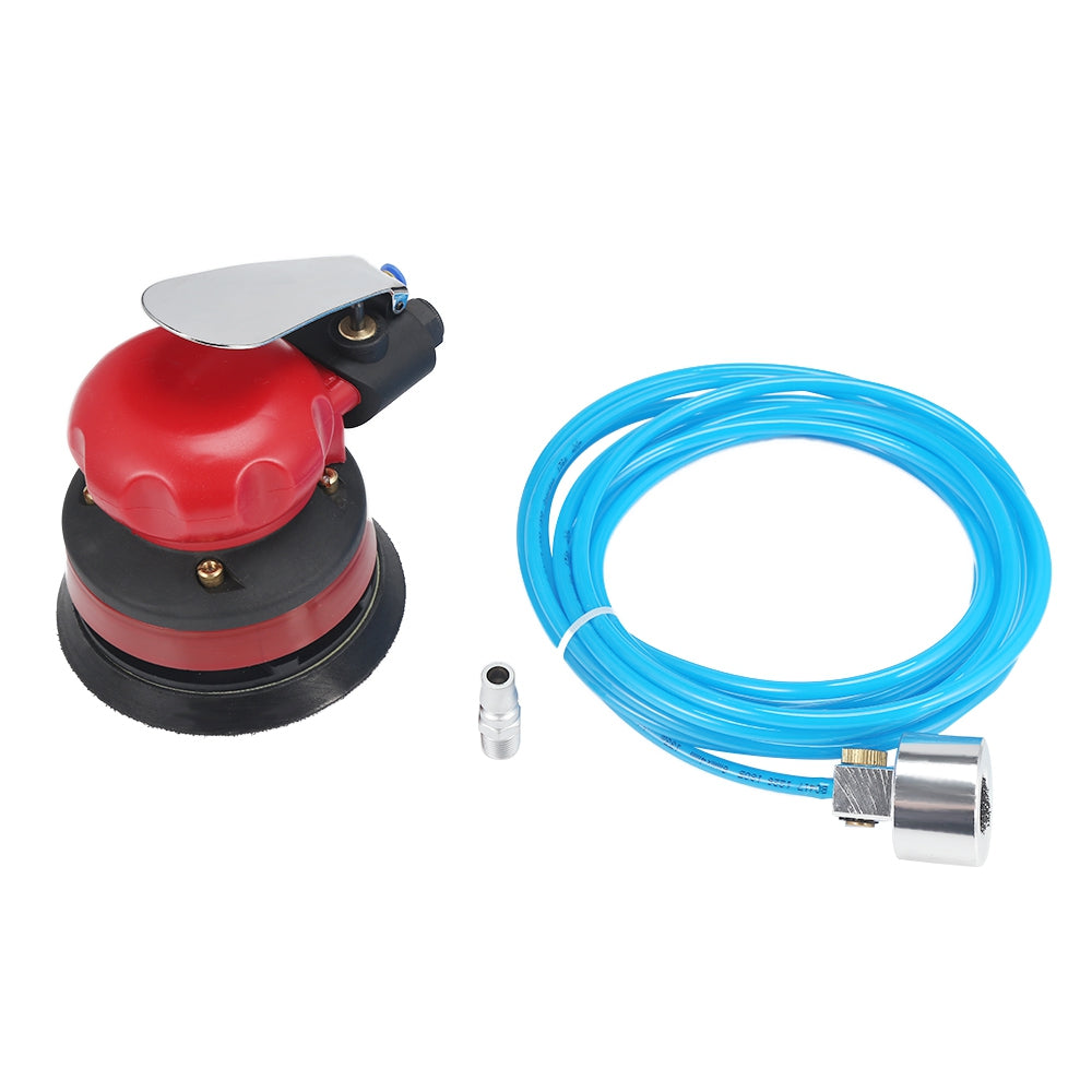5 inch Pad Pneumatic Water Mill Sandpaper Polishing Machine