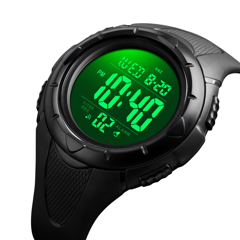 SKMEI 1535 Men's Fashion Outdoor Sports Student Digital Watch Waterproof