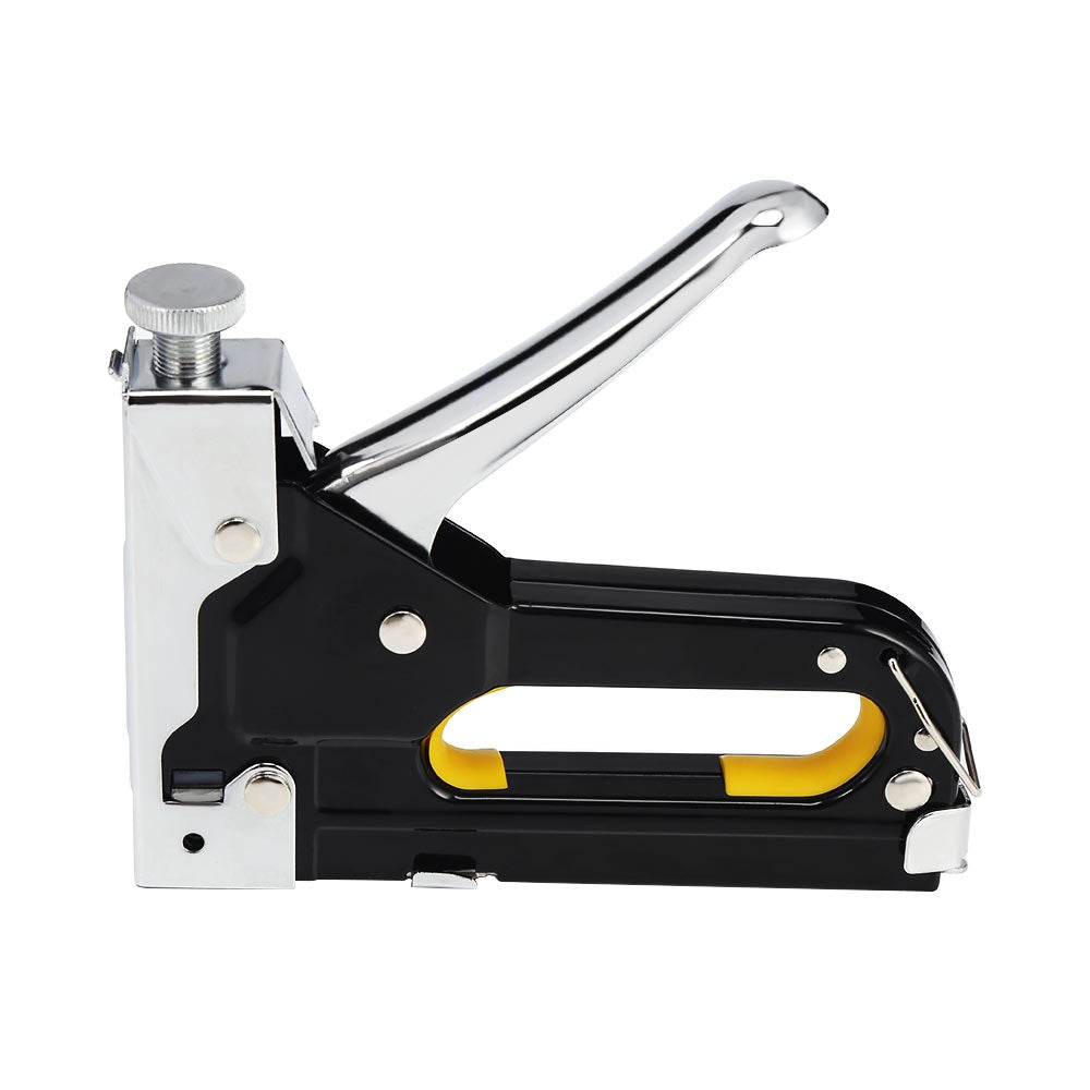 3-in-1 Manual Nail Staple Gun Furniture Woodworking Stapler Tool