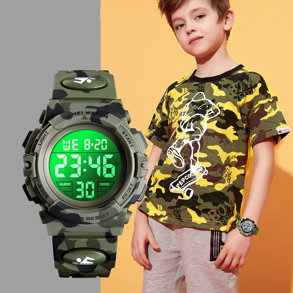 SKMEI Children's Watch Multi-function Outdoor Sports Digital Display