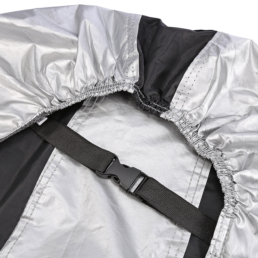 Bike Protective Rain Cover Water Resistant Dustproof UV with Keyhole