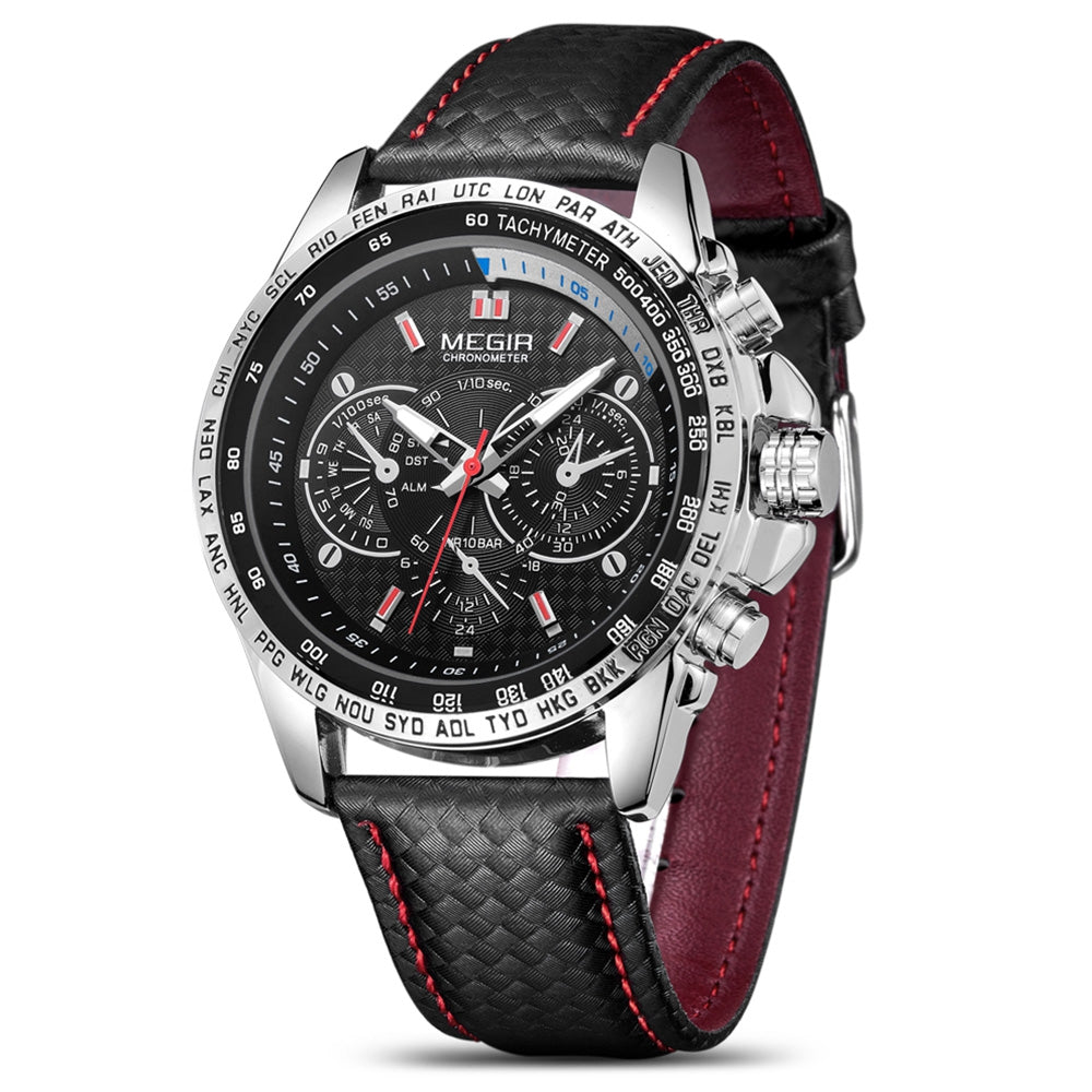 MEGIR 1010G Men's Watch Sports Luminous Style
