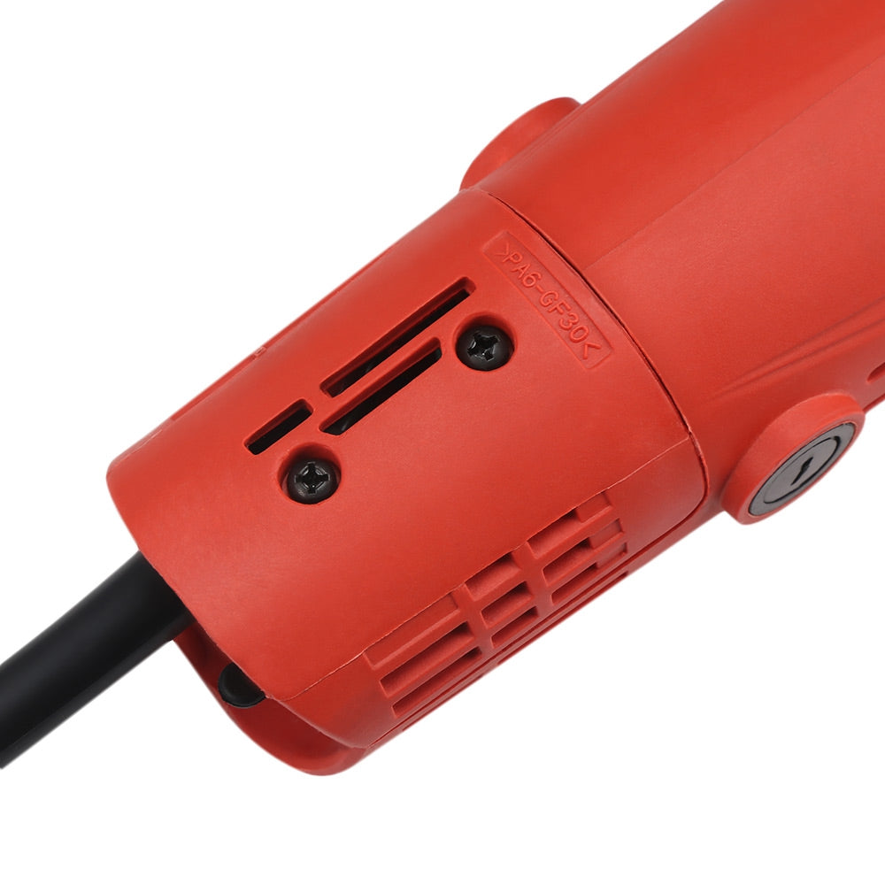 600W Electric Angle Grinder Edge Handheld Polishing Grinding Cutting Machine Woodworking Tool