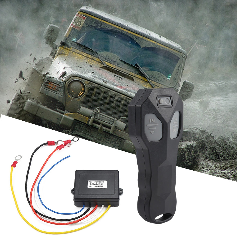 KLS - 223X Wireless Winch Electric Remote Control Anti-interference Twin Handset