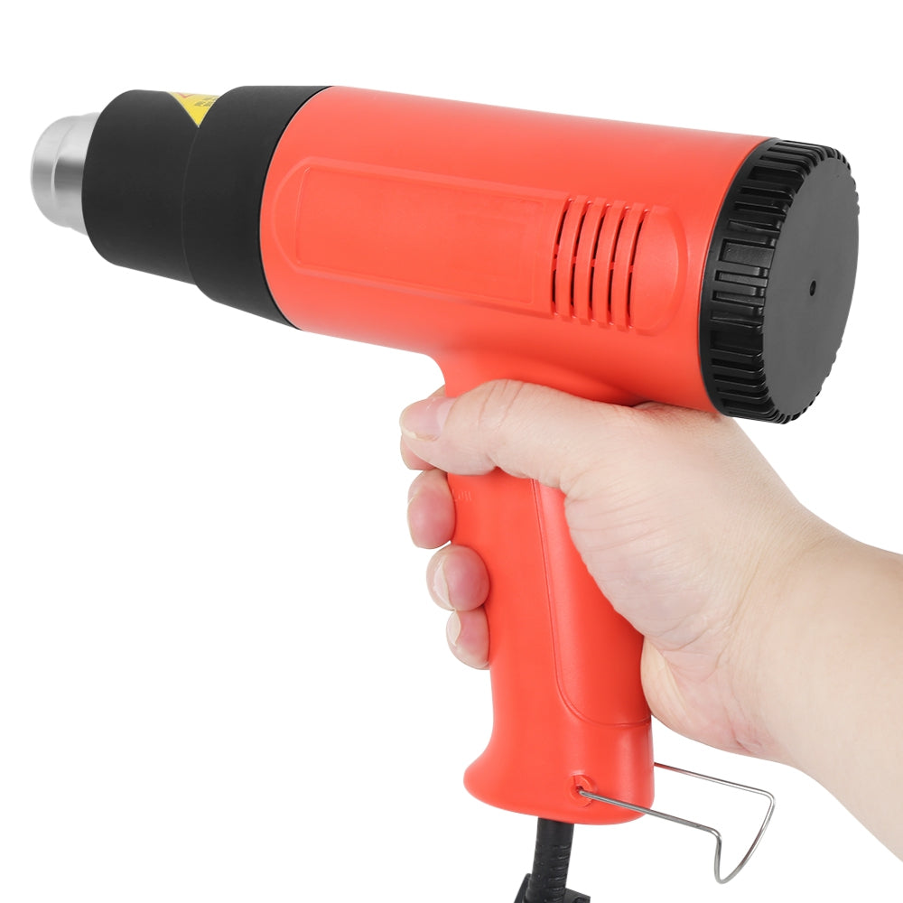 2000W Electric Hot Air Gun Thermal Power Tool with Four Nozzles