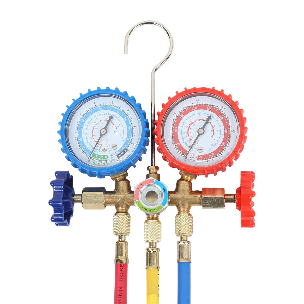 CT - 536A Refrigerant Manifold Gauge Set for Air Conditioning Refrigerator Freon Measuring Meter