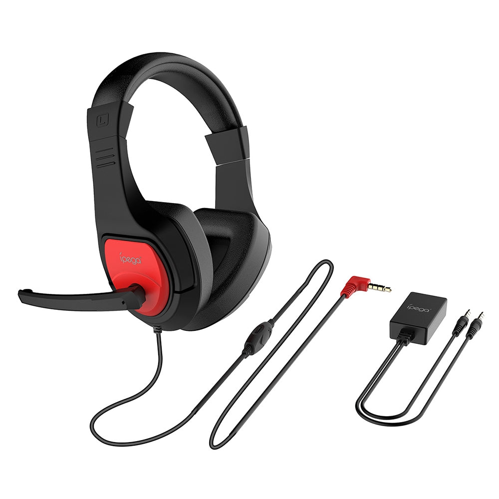 iPEGA PG - R001 Adjustable Game Headset 3.5mm for Switch / PS4 / PC