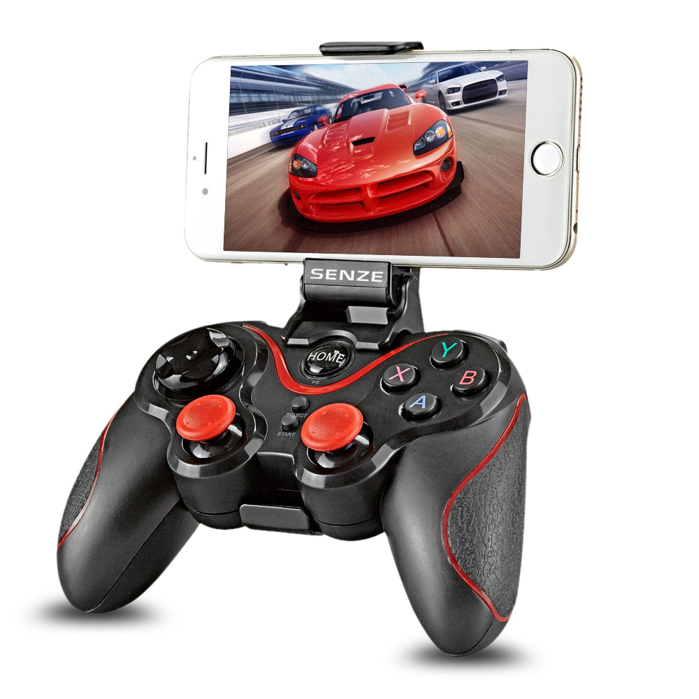SENZE A1006 Bluetooth Game Controller with Adjustable Phone Stand for PUBG