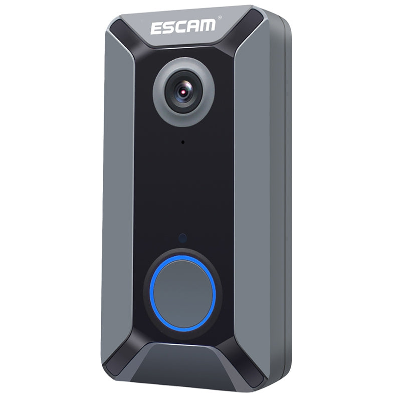 ESCAM V6 720P Wireless Doorbell Video Intercom Free Cloud Storage Waterproof for Home Security