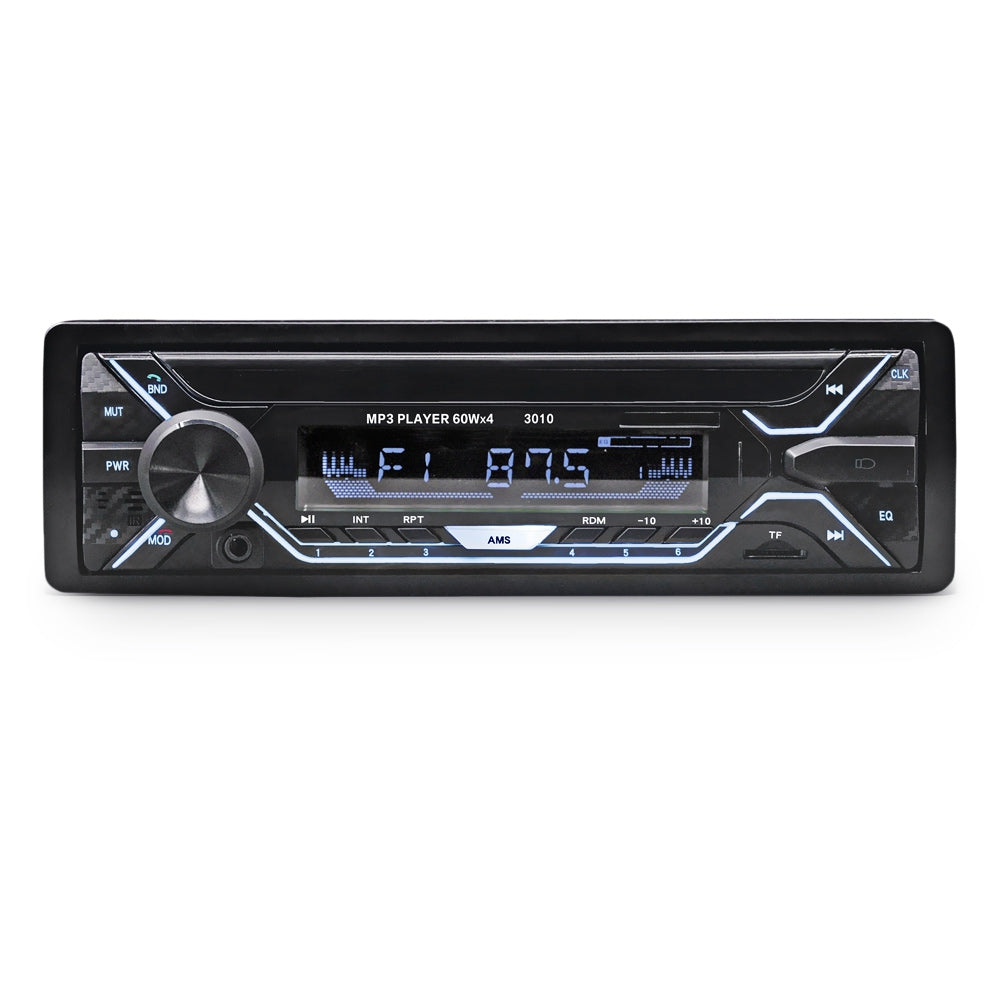 3010 Bluetooth Auto MP3 Player Multimedia System 87.5 - 108.0MHz FM Radio with Remote Controller