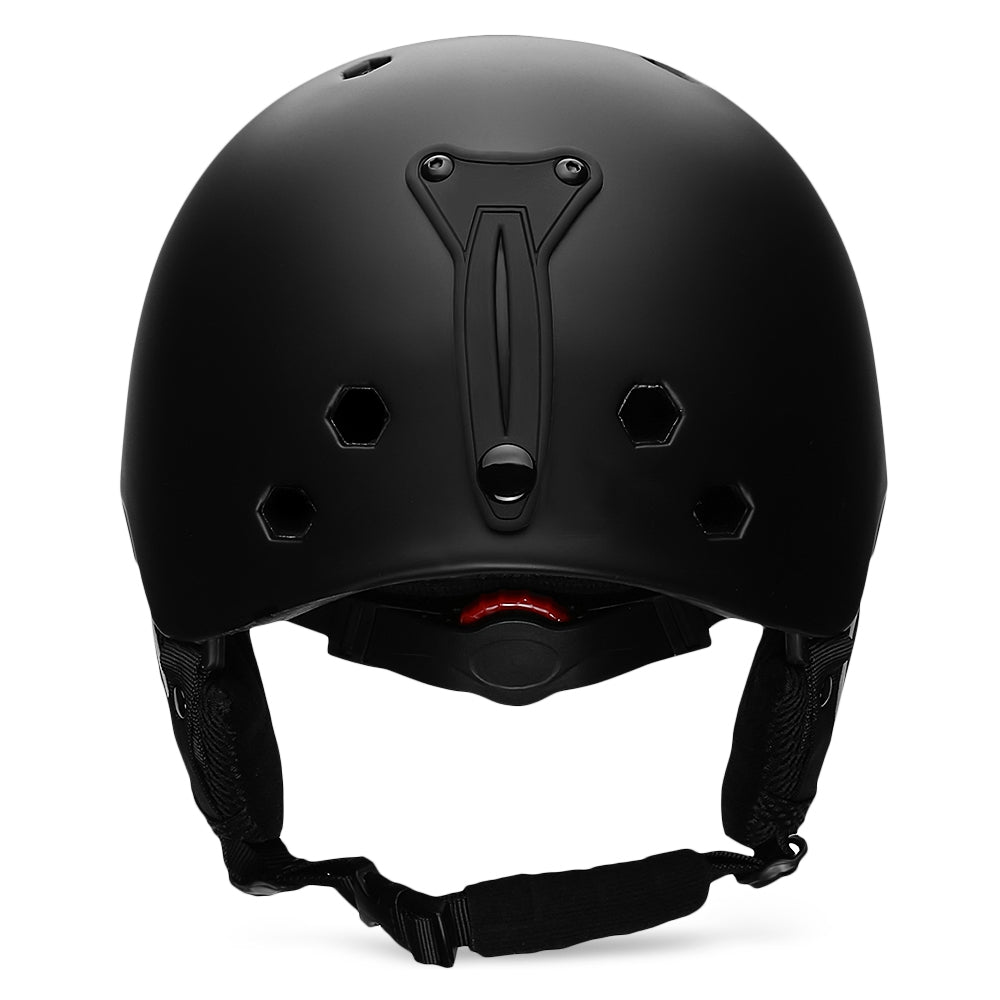 MOON Outdoor Integrated Skiing Helmet with Adjustable Strap Air Vent for Cycling Skating