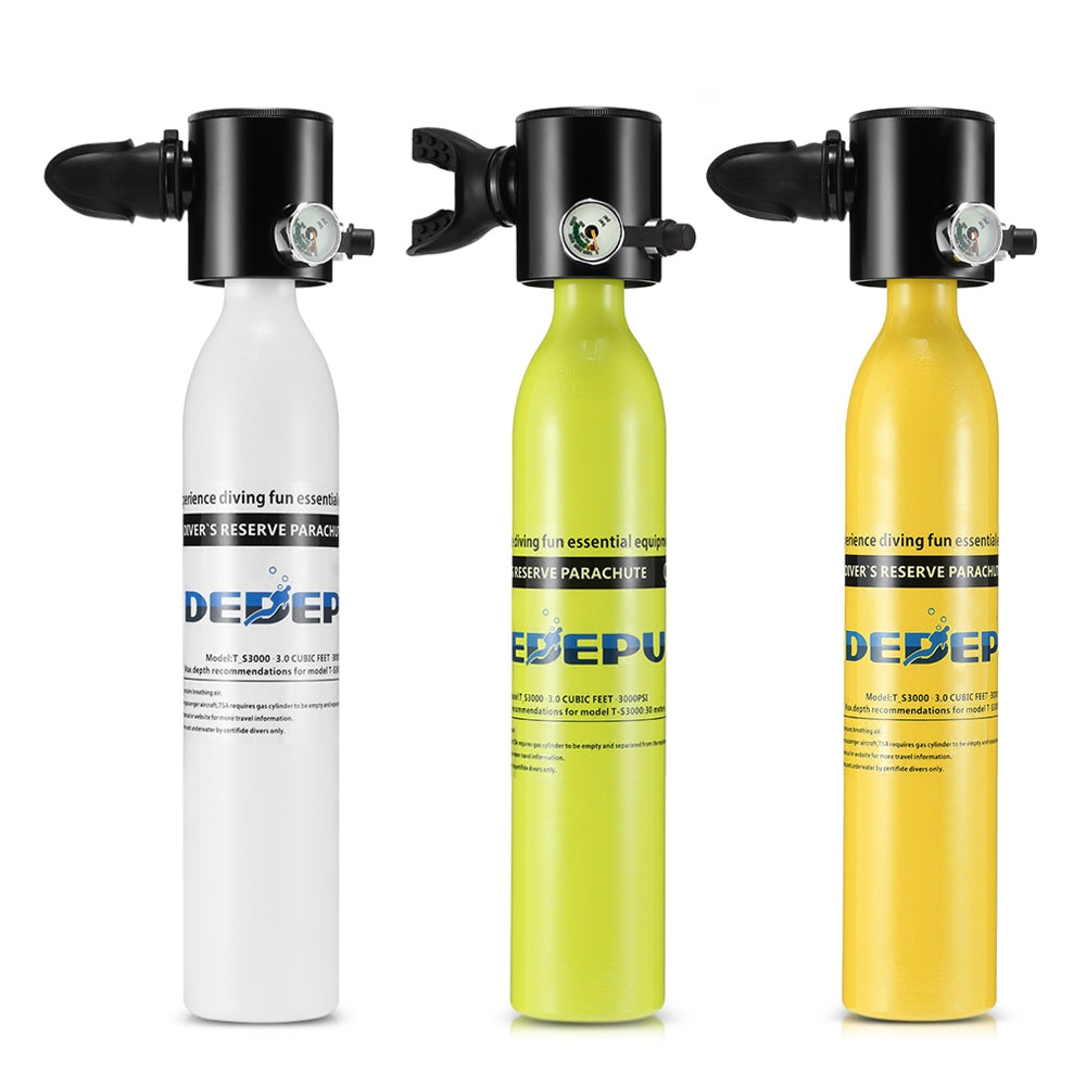 DEDEPU T_S3000 Portable Diving Oxygen Cylinder with Aviation Aluminum Material