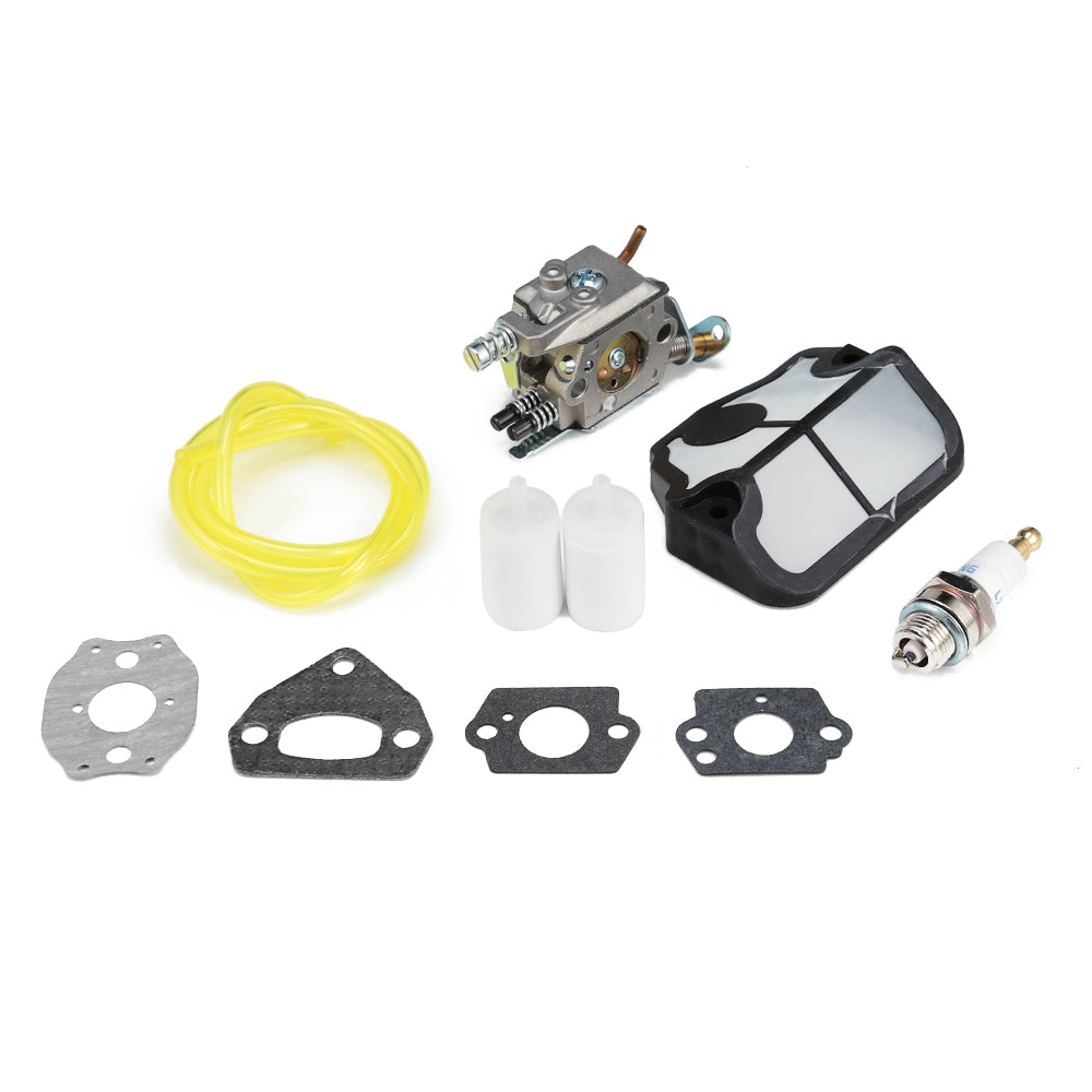 Carburetor Kit with Air Filter for Husqvarna Chainsaw 136 / 137 / 141 / 142 / 36 / 41 / 142E
