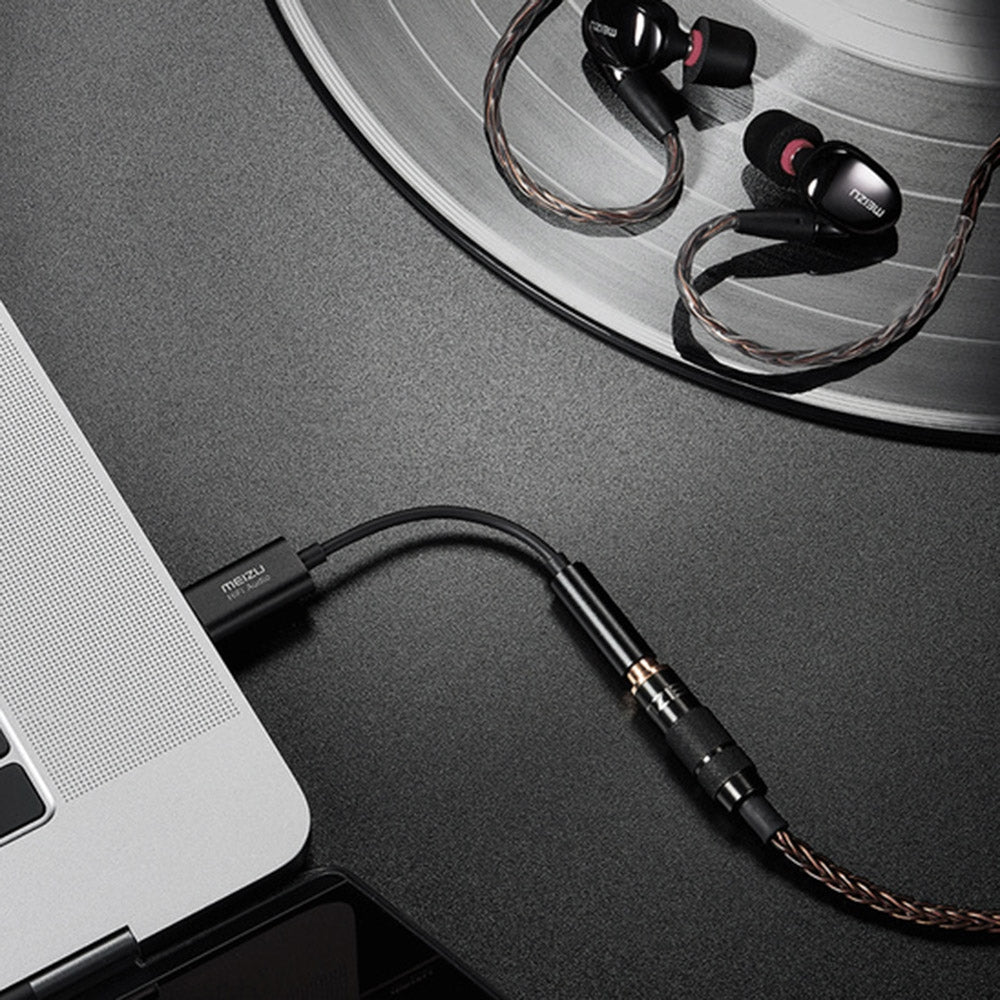 MEIZU Hi-Fi Audio Decoding Amp DAC 3.5mm Mobile Phone Type-C USB Adapter Cable